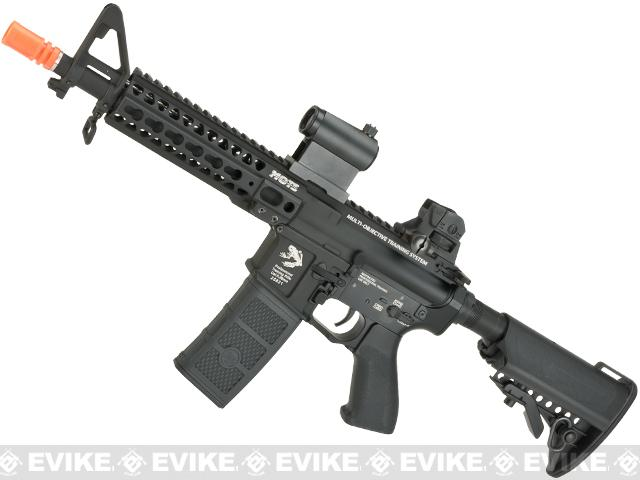 G&P KeyMod M4 SBR AEG with Monolithic Upper - Black (Package: Gun Only)