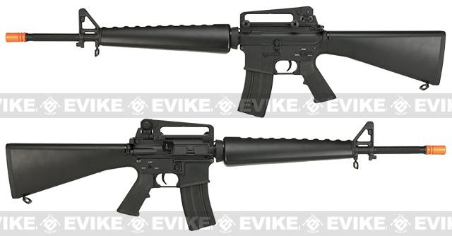 Pre-Order ETA October 2017 CYMA Full Metal M16 A1 Vietnam Airsoft AEG Rifle (Package: Gun Only)