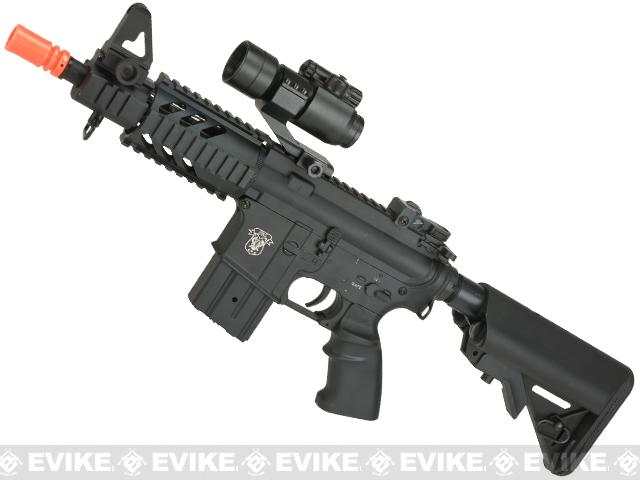 AGM Full Metal M4 Stubby Elite Airsoft AEG - Crane Stock