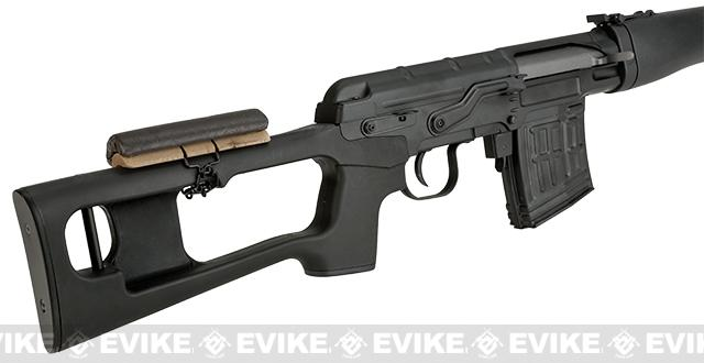 A&K SVD Dragunov Airsoft AEG Sniper Rifle - Black