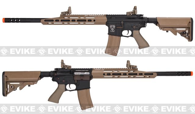 APS M4 Full Metal Guardian Match Airsoft Electric Blowback AEG Sniper Rifle