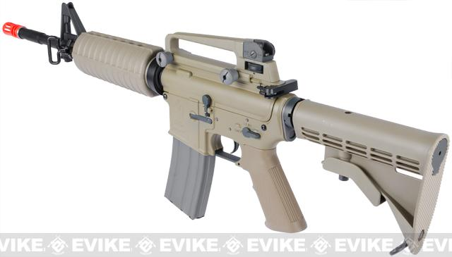 z ARES Full Metal M4A1 Carbine Airsoft AEG Rifle - Dark Earth
