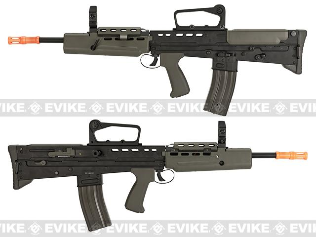 Pre-Order ETA January 2017 Army Full Steel Metal Body L85A1 / R85A1 Full Size Airsoft AEG Rifle