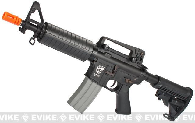 APS Full Metal M4 Commando M933 Electric Blowback Airsoft AEG Rifle (Hybrid Gearbox)
