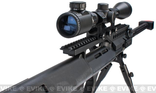 JG AUG AU-5G Anti-Tank Custom Airsoft AEG Rifle w/ Scope & Bipod