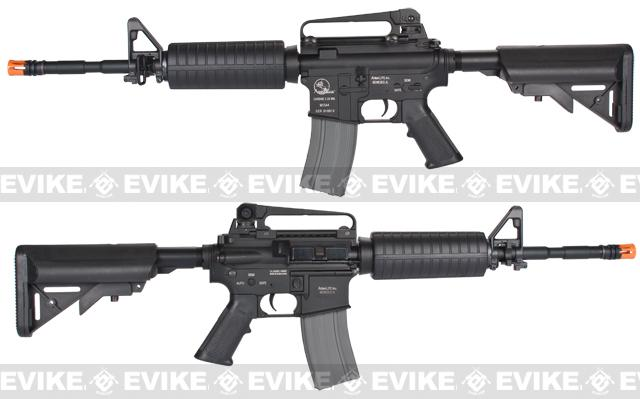 z Classic Army Full Metal Colt M4 Carbine Airsoft AEG Rifle w/ Retractable Stock