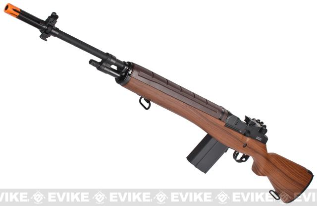 z Classic Army M14 Match Airsoft AEG Rifle - Spartan Version / Wood Stock