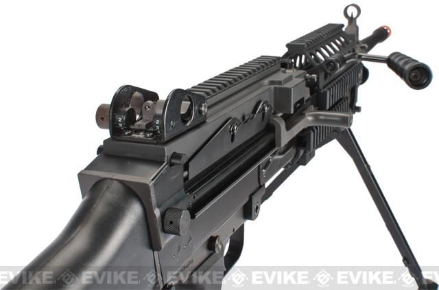z FN M249 MkII Airsoft AEG Machine Gun by Classic Army