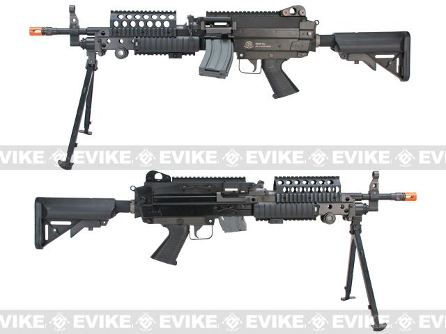 FN Herstal M249 MK46 SPW Airsoft AEG Machine Gun by Classic Army