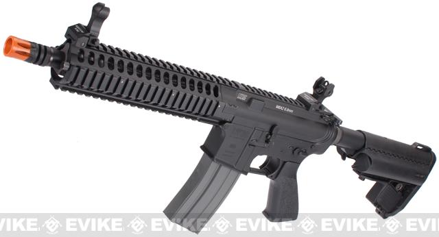 z Classic Army Full Metal LWRC M6A2 Airsoft Blowback AEG Rifle - (Black)