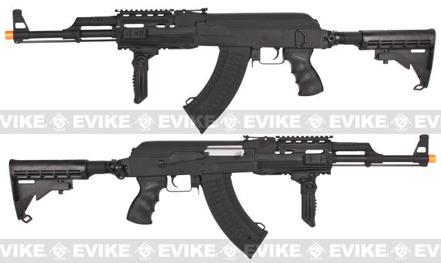 CYMA Contractor AK Airsoft AEG Rifle w/ Lipo Ready Gearbox (Package: Add Battery + Charger)