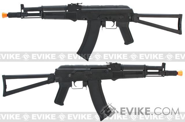 CYMA AK105 Airsoft AEG Rifle w/ Steel Folding Stock - (Package: Add Battery + Charger)