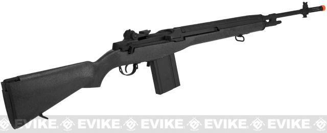CYMA Full Size M14 Airsoft AEG Rifle - Black (Package: Add Red Dot + Mount)