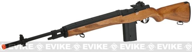 CYMA Full Size M14 Airsoft AEG Rifle - Real Wood