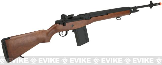 CYMA Full Size M14 Airsoft AEG Rifle - Imitation Wood (Package: Add Red Dot + Mount)