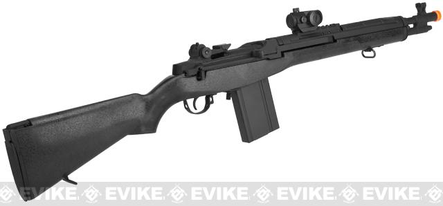 CYMA Socom-16 M14 Full Size Airsoft AEG - Black (Package: Rifle)