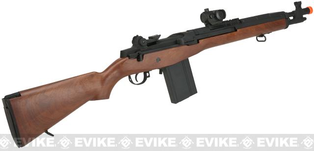 CYMA Socom-16 M14 Full Size Airsoft AEG - Imitation Wood (Package: Rifle)