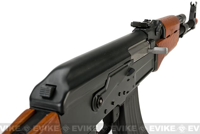 Matrix CYMA Custom AK47 Full Metal / Real Wood / Blowback Full Size Airsoft AEG - (Package: Gun Only)