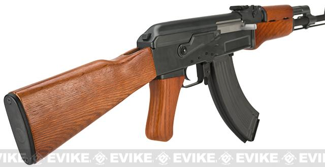 Pre-Order ETA June 2017 Matrix CYMA Custom AK47 Full Metal / Real Wood / Blowback Full Size Airsoft AEG - (Package: Gun Only)