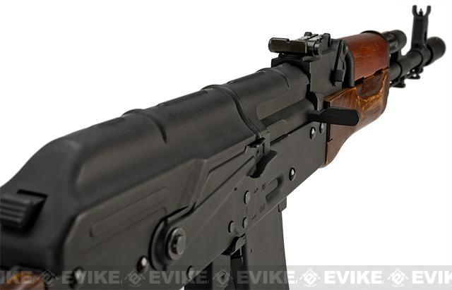 CYMA Custom Stamped Steel / Real Wood Full Size AK-74 Airsoft AEG - (Package: Gun Only)