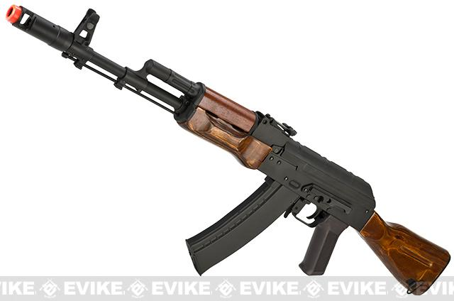 Pre-Order ETA August 2015 CYMA / Matrix Custom Stamped Metal / Laminated Wood Full Size AK-74 Airsoft AEG