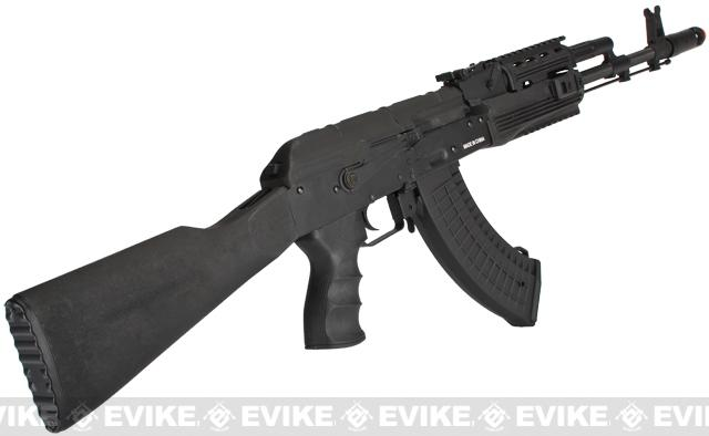 CYMA Full Metal AK74 RIS Tactical Airsoft AEG Rifle - (Package: Gun Only)