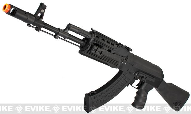 CYMA Full Metal AK74 RIS Tactical Airsoft AEG Rifle - (Package: Add Battery + Charger)