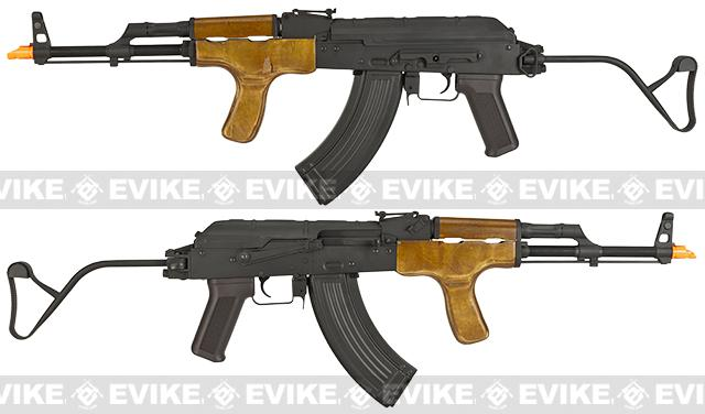 Matrix CM050 Full Metal Electric Blowback Romania AK47 AIMS Airsoft AEG Rifle by CYMA - (Package: Add Battery + Charger)