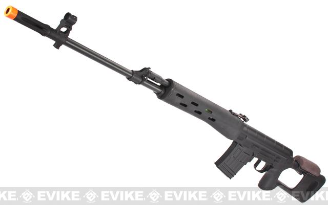 Pre-Order ETA June 2015 Matrix Full Metal AK Dragunov SVD Airsoft AEG Sniper Rifle - Black
