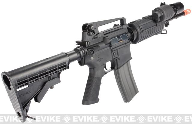z Evike Custom G&G SWAT500 Blowback M4 Airsoft AEG Rifle - Black