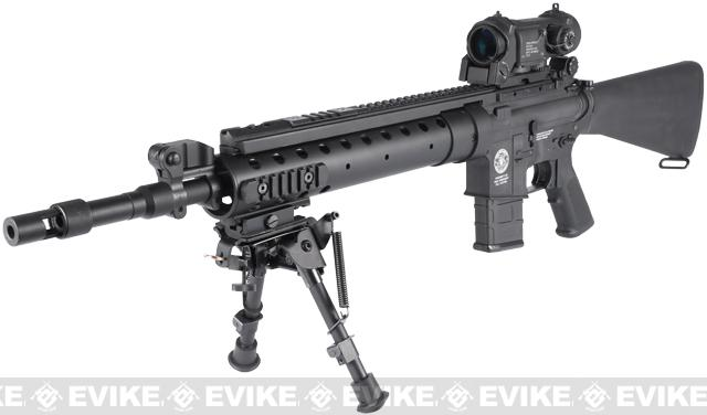 z Evike Custom G&G M16 SPR MOD-0 Airsoft AEG Rifle - (Black)