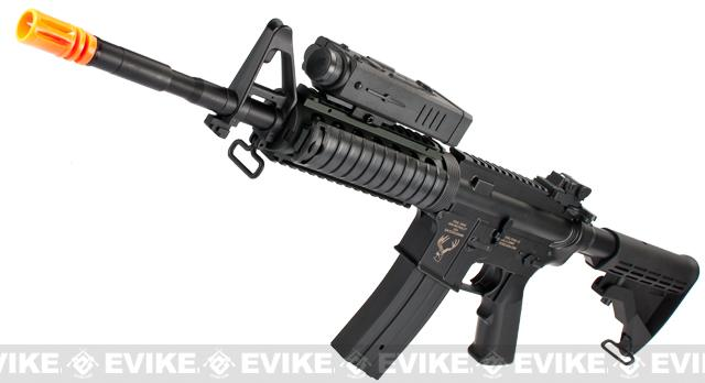 z Echo1 Stag Arms STAG-15 Licensed M4 RIS Airsoft AEG Rifle w/ PEQ