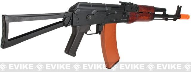 Echo1 Red Star Wolverine Full Metal / Real Wood / Blowback AK74 Airsoft AEG