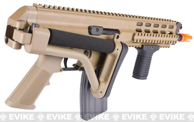Pre-Order ETA October 2016 Echo1 Fully Licensed Robinson Armament XCR Airsoft AEG Rifle - (Tan)
