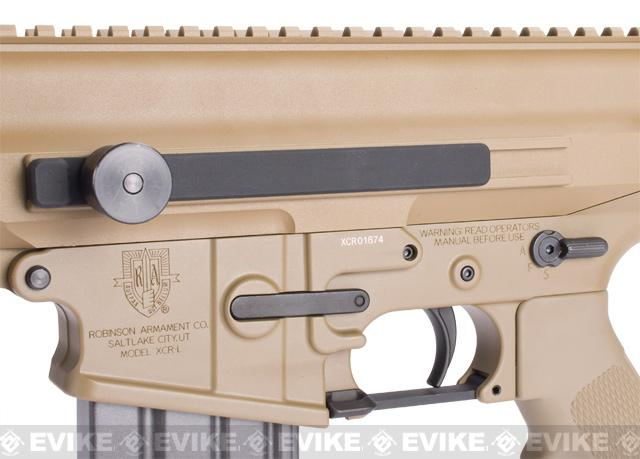 Pre-Order ETA June 2017 Echo1 Fully Licensed Robinson Armament XCR Airsoft AEG Rifle - (Tan)