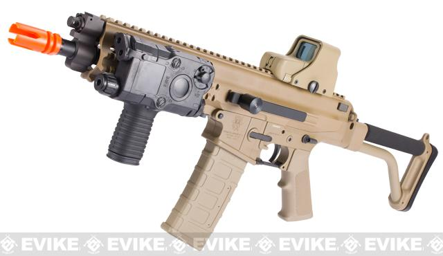 Pre-Order ETA October 2015 Echo1 Fully Licensed Robinson Armament XCR Airsoft AEG Rifle - (Tan)