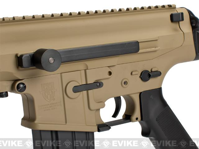 Echo1 Fully Licensed Robinson Armament Polymer XCR-C Airsoft AEG Rifle - Tan