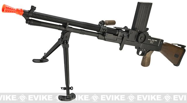 z Echo1 Full Metal ZB-30 Airsoft AEG Machine Gun w/ Folding Bipod
