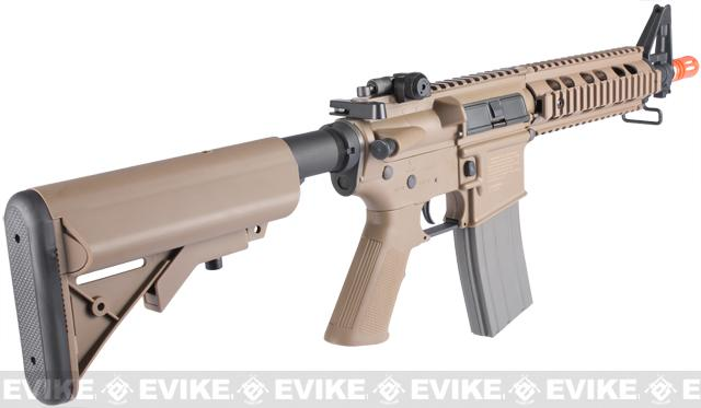 Elite Force Umarex M4 CQB Airsoft AEG Rifle by ARES - (Dark Earth)