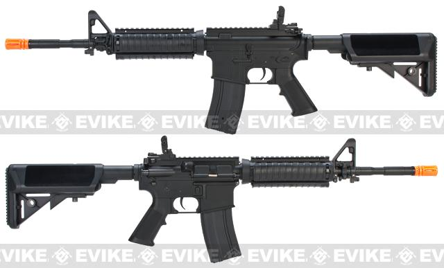 JG M4A1 SOPMOD Carbine Lipo Ready Airsoft AEG Rifle w/ Crane Stock & RIS