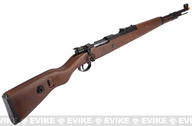 Pre-Order ETA October 2016 G&G Top Tech G980 Mauser KAR 98K WWII Airsoft Co2 Gas Rifle with Real Wood Stock