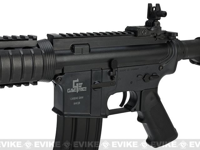 z SRC GameFace M4 Metal Gearbox CQB RIS Airsoft AEG Rifle - Black