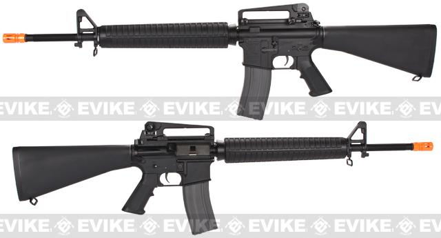 Pre-Order ETA December 2016 G&G Top Tech GR16 Full Metal A3 Blowback Airsoft AEG Rifle - (Package: Add 8.4v 1600mAh Battery + Charger + BBs)