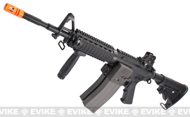 z (10 FREE MAG PACKAGE DEAL!) G&G Top Tech Full Metal Pro-Line GR16 R4 Carbine Blowback Airsoft AEG Rifle