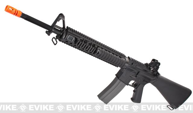 Pre-Order ETA August 2017 G&G Top Tech GR16 R5 M16 SPR Type Blowback Airsoft AEG Rifle - (Package: Rifle)