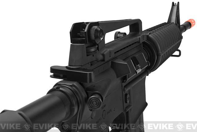 G&G M4 Carbine Combat Machine Airsoft AEG Rifle - Black (Package: Gun Only)