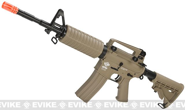 G&G M4 Carbine Special Editions M16 Combat Machine Airsoft AEG Rifle (Tan)