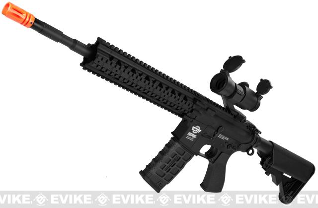 G&G CM16 R8-L Airsoft AEG Rifle Combo Package w/ Scope - Black