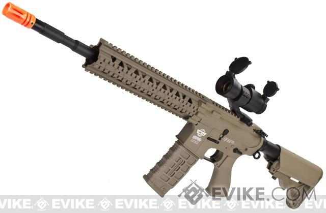 G&G CM16 R8-L Airsoft AEG Rifle Combo Package w/ Scope - Tan