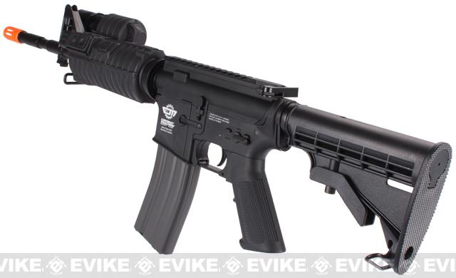 z Evike Custom G&G SWAT500 M4 Airsoft AEG Rifle - Black